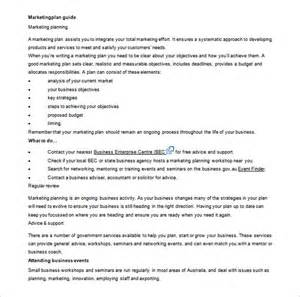 writing a marketing plan template marketing plan outline template 8 free sle exle