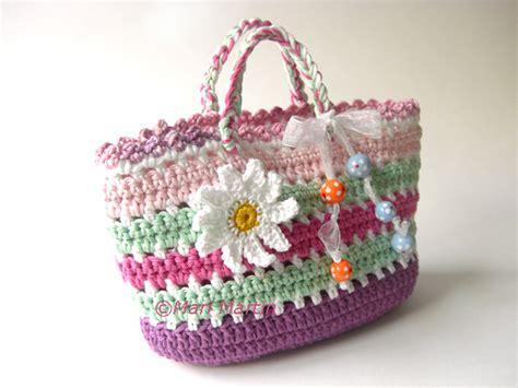 crochet bag pattern crochet colorful
