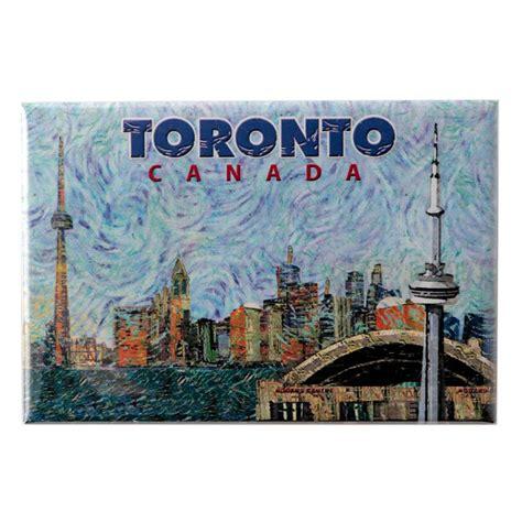 Souvenir Negara Canada Tempelan Magnet Tower Toronto canada souvenirs gifts photo magnet toronto