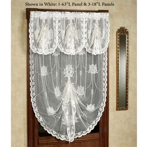 victorian window curtains victorian bustle lace window treatment