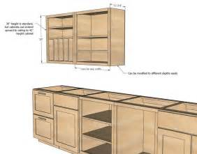 kitchen furniture plans best 25 diy cabinets ideas on diy cabinet