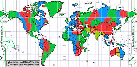 map usa and canada current time around the world and standard time zones map of the world
