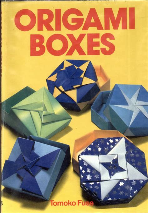 Origami Box Book - origami boxes tomoko fuse book