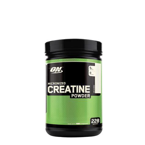 creatine serving size optimum nutrition micronized creatine powder 228