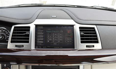 mks mobile review 2009 lincoln mks with microsoft sync