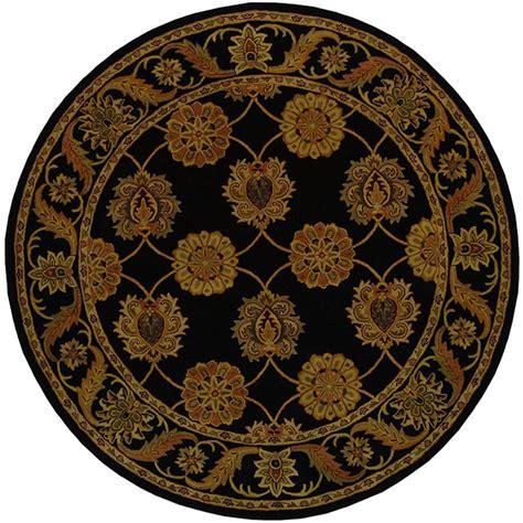 6 ft rugs safavieh heritage black 6 ft x 6 ft area rug