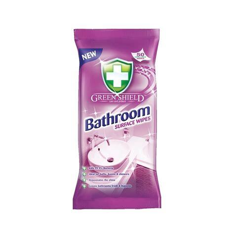 green shield bathroom cleaner green shield bathroom surface wipes 50 pcs 163 0 95