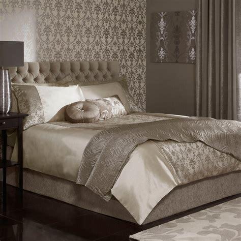 Linen House Bed Linen - iliv palladio mink damask design duvet cover iliv from emporium home interiors uk