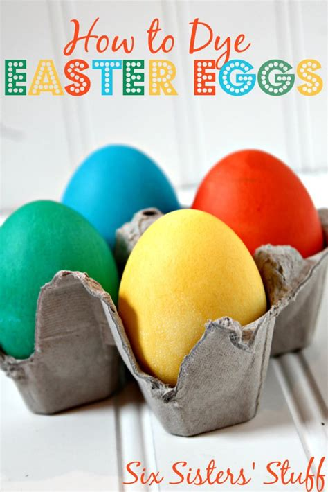 dying easter eggs with food coloring how to dye easter eggs with food coloring six stuff