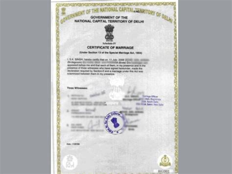 No Record Of Marriage Certificate How To Apply For Marriage Certificate Your Complete Guide Oneindia
