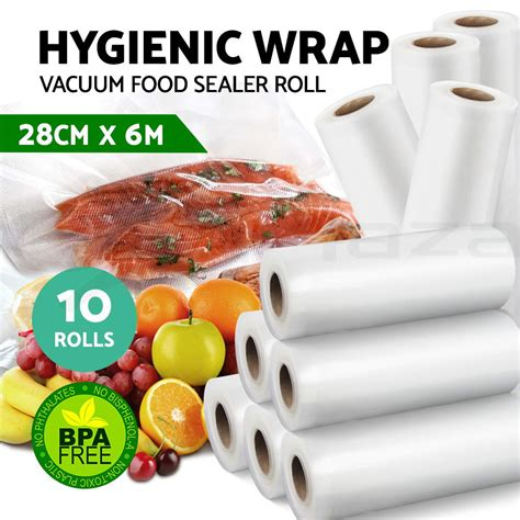 food heat ls commercial 10x vacuum food sealer bags roll saver storage seal heat