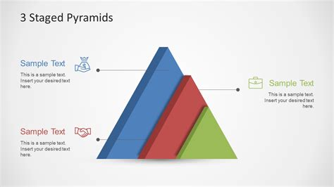 3 Stages Pyramid Powerpoint Template Slidemodel Pyramid Powerpoint Template