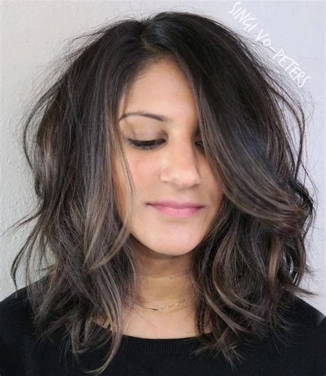 mid length hairstyles for the older person 90 sensational medium length haircuts for thick hair