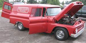 1963 chevy 2dr panel truck