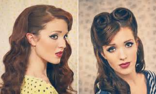 50s Pin Up Hairstyles For Medium Hair » Home Design 2017