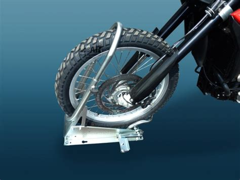 Motorradwippe Enduro by Trailerparts24 Steadystand Cross Ac 190