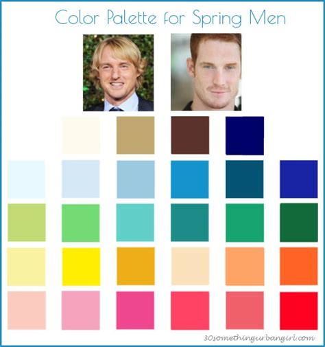 color for men 95 best images about color analysis spring men color