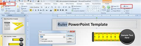 How To Search Inside A Powerpoint Presentation Using Microsoft Powerpoint 2010 Microsoft Powerpoint Templates Search