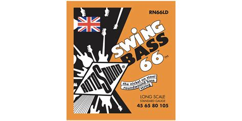 swing bass 66 swing bass 66 bs66 billy sheehan signature set rotosound