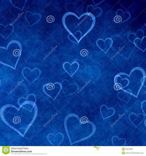 wallpaper blue valentine hearts on blue background of valentine s day love texture