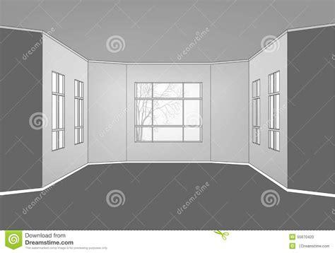 what is empty room in line interior line stock vector image 55670420