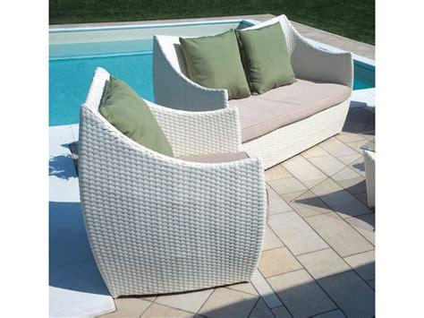 divanetti in rattan sintetico set divanetto giardino caprera divano 2 poltrone