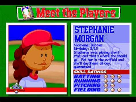 kenny backyard baseball the best backyard baseball lineup you could make without