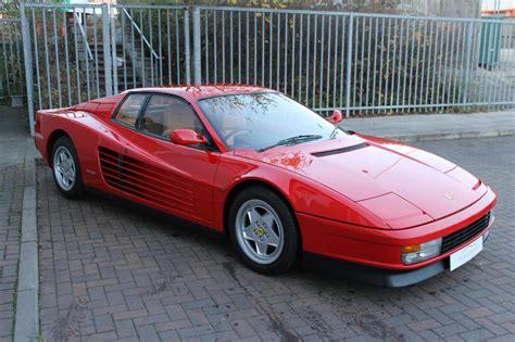 Ferrari Testarossa For Sale by Ferrari Testarossa For Sale In Ashford Kent Simon