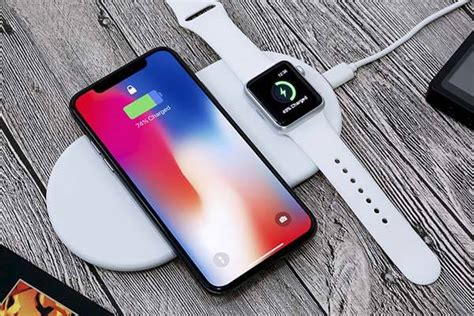 funxim qi wireless charging pad  apple  holder