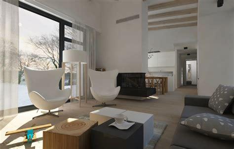 Studio Apartment Design navrh interieru obyvacky
