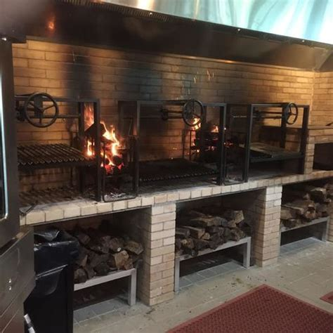 Wood Fired Commercial BBQ Grills