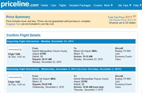 fare deal alert | american – $111: detroit – miami (and