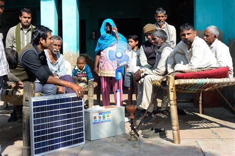 adb supports scale    grid solar power systems  rural india asian development bank