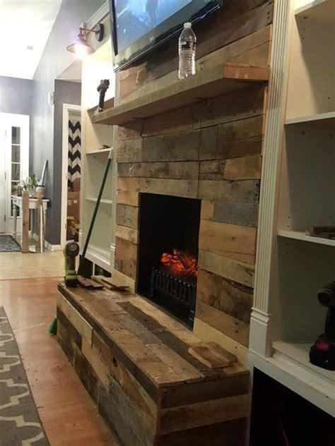 diy pallet wood fireplace wood fireplace surrounds wood