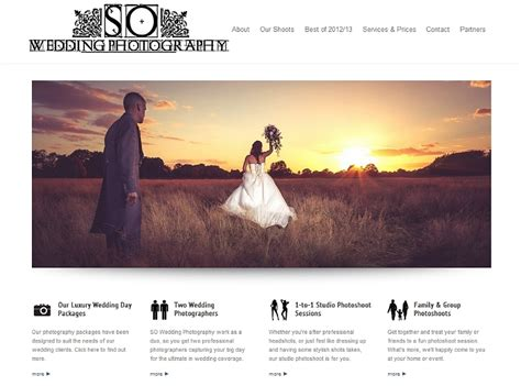wedding photography websites tips for building a better photography website we are so