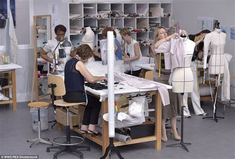 Inside Look In The Chanel Workshops by Chanel Celebrates The Dressmakers Who Created Chanel S