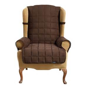 sure fit slipcovers waterproof wing chair furniture cover