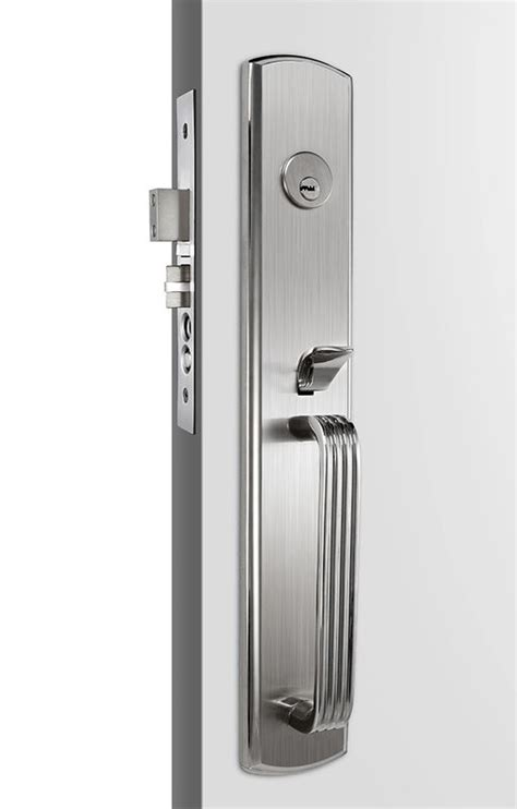 Entry Door Handlesets by Satin Stainless Steel Door Handles Entry Door Handlesets