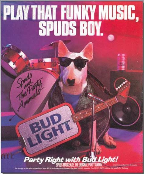 what of was spuds mackenzie 26 best images about spuds mackenzie on bud light bull terriers