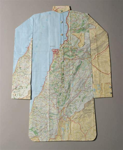 Elisabeth Lecourts Map Clothing by Elisabeth Lecourt Maps Couture