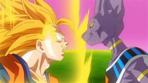 imagenes de goku la pelea de los dioses dragon ball super la batalla entre goku y bills
