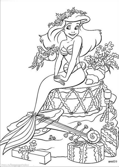 ariel coloring pages for adults ursula little mermaid coloring pages coloring home