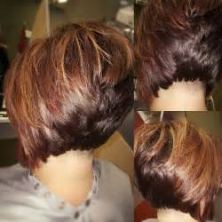 high stacked layered bob hair cut 25 best ideas about stacked bobs on pinterest stacked