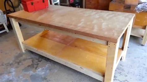 how to bench heavy building a heavy duty workbench youtube