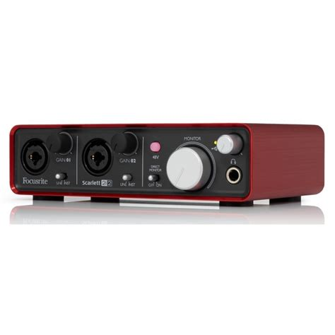 Audio Sound Card 2 0 Usb Interface focusrite 2i2 2 0 usb 2 in 2 out recording