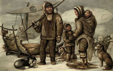 Ancient routes of the Inuit mapped for the first time ... Inuit Artifacts History