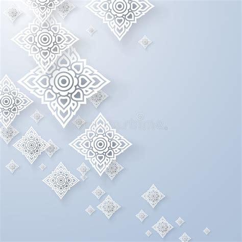 svg pattern background cover asian art background thai art pattern vector stock