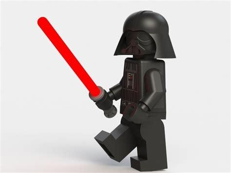 darth vader lego  model  printable stl sldprt sldasm slddrw wrl wrz cgtradercom