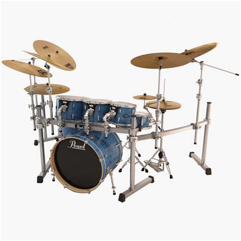 Rack Drum 3d Model Pearl Drum Rack