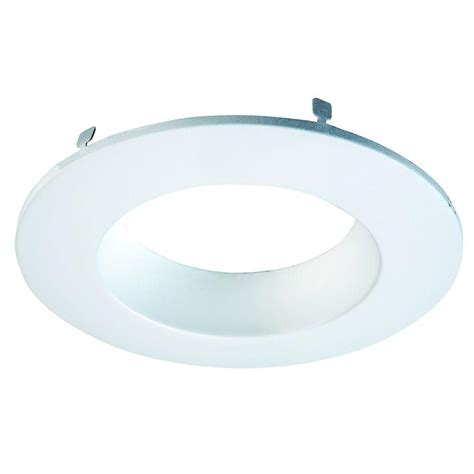 shower light trim ring halo 6 in white recessed lighting coilex baffle and trim